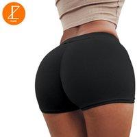 Pantaloncini da corsa Ezsskj Donne Sexy Compressione Yoga Compressione Corto Patchwork Short Gym Sport per allenamento Athletic Fitness Leggings