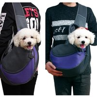 Pretty&Better Breathable Dog Carrier Outdoor Travel Handbag Pouch Mesh Shoulder Bag Sling Pet Tote Cat Puppy Car Seat Covers