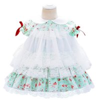 Girls Dresses Lace Baby Dress Flower Princess 1st Birthday P...