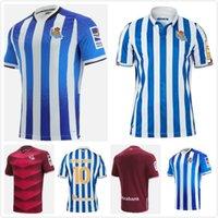 2021 Real Sociedad Soccer Jerseys Willian J. Oyarzabal AGIRIRTXE Juanmi Custom Home Away 2022 Royal Society Adult Kids Football Shirt