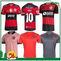21 22 22 Flamengo Jersey 2021 2022 Guerrero Diego Vinicius JR Soccer Jerseys Gabriel B Sport Football Adulto Adulto Camicia da uomo e donna