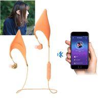 Bluetooth Elf-Ohren Kopfhörer Cosplay Geist HiFi Ohrhörer Headsets mit Mikrofon für Smartphones Fee Kopfhörer Magie Ohr Sport Wireless Headset
