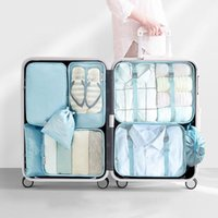 Storage Bags Set Of Travel Organizer Suitcase Package Case Hand Held Clothes Luggage Sorting Bag Packaging