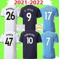 2021 2022 Manchester City Retro Soccer Jerseys Vintage Classic MAN 20 21 قمصان كرة القدم 1972 1998 1999 2001 2011 2012 شورتات KUN AGÜERO TOURE YAYA DE BRUYNE GESUS BERNARDO