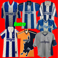 Ретро Порту UCL футбол футбол 94 95 96 97 98 99 00 01 деко Маккарти Винтажный футбол CamiSetas Futbol Camisas Рубашки 2003-04