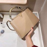 Luxurys Soft Touch Borse da donna Casual Style Style Alligator Pure Colors Designer Borse a tracolla 6 colori di alta qualità