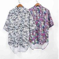 Men Women 1:1 High Quality Full Graphic Pattern T shirt Vetements Shirts Oversize VTM Blouse VETEMENTS Cartoon Shirt