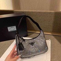 2021 Luxo Top Designer Senhoras Bolsa de Alta Qualidade De Couro Moda Saco Underarm Bag Reedição 2000 Saco de Hand Wallet Hobo ZLH