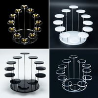Tray Fashion Multilayer Acrylic Jewelry Ring Pendant Display Stand Storage Box