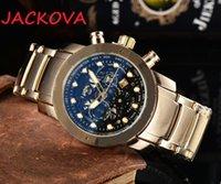 montre de luxe Men Watches Quartz chronograph movement Sport Stanless Steel Automatic High Quality Business Casual Mens Wristwatches