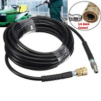 High Pressure Washer Hose Tube 1 4 Quick Connect Car Cleaning