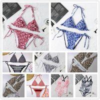 2021 Méxica Moda 11 Estilos Mujeres Swimsuits Bikini Set Multicolors Tiempo de verano Playa Bañado Trajes de baño de viento de alta calidad