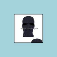 Caps Masks Protective Gear Sports & Outdoorsoutdoor Fast Drying Balaclava Cycling Windproof Dustproof Headgear Head Er Sunscreen Mask For Sp