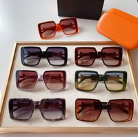 최고 품질 여성을위한 9186 망 선글라스 남자 태양 안경 패션 스타일은 사건을 가진 눈을 보호합니다. UV400 렌즈를 보호합니다