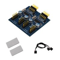 9 핀 USB 헤더 남성 1 ~ 4 여성 확장 케이블 Extender 카드 허브 커넥터 어댑터 포트 매달러 데스크탑 허브 용