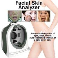جهاز تحليل البشرة المحمولة 3d uv ماجيك مرآة الجلد محلل رطوبة اختبار القلم الوجه محلل الجلد تشخيص نظام آلة الوجه