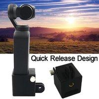 Stabilisatoren 1/4 Schraubadapter Kamerahalterung für DJI Osmo Pocket Handheld Gimbal Expansion Stativhalter Kopfhalterung D.26