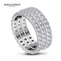 Заказать Серебряный JewelryCluster To Ever Body Concept Community Ringcluster Precision Micro Inlaid Ainuoshi Zjdy