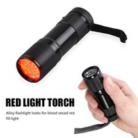 Flashlights Torches Red LED Infrared Vein Imaging 625nm Light 9 Torch Finder For Nurses Caregivers Clinicians