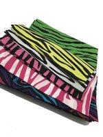 Cachecol Algodão Hip Hop Zebra Animal Bandan Headband