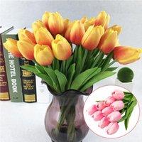 Decorative Flowers & Wreaths Wholesale Artificial Flower Pink Silk Peony Bouquet Head Fake Home Wedding Decoration Indoor