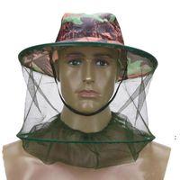 Forniture da giardino Zanzara Cappello da esterno Mantenimento all'aperto Mantenimento degli insetti Prevenzione Cappucci in rete Pesca esterna Parasole da parasole Collo solare Collo della testa del collo OWD6158