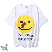 CPFM. XYZ KANYE T-shirt Yams Day en la memoria amorosa camiseta hombres mujeres algodón primavera y verano