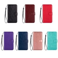 Pure color crazy horse pattern leather phone cases for iphone13 pro max 12 min 11 X XR XS 7 8 plus SE case cover