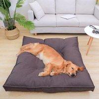 Kennels & Pens Winter Dog Bed House Soft Pet Beds Mat Warm Sofa Pets Cushion Mattress For Small Medium Large Dogs Cats Supplies
