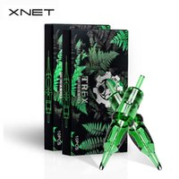 XNET TREXタトゥーカートリッジの針20ピース1RL 3RL 1RM 5RM使い捨て可能な滅菌安全タトゥーニードルのためのカートリッジの針210608