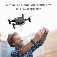 Party Favor XKJ 2021 Mini Drone 4K 1080P HD Camera WiFi Fpv Air Pressure Altitude Hold Black And Gray Foldable Quadcopter RC Dron Toy