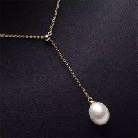 Sezione collana in argento sterling solido, montaggio collana, collana in bianco senza perla, modi in multi indossa, gioielli fai da te, regalo fai da te 623 z2