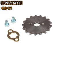 Chain 17T 17MM 20mm Front Engine Sprocket Cog Fit Motorcycle...