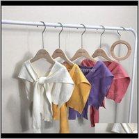 Chaleco suéteres ropa bebé bebé, niños maternidad entrega entrega 2021 niños lana ganchillo punto bufanda chal niños y niñas tejer suave