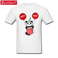 Lustige T-Shirts Happy Birthday Panda Nacelle T-shirt Herbst Reine Israel Rundhalsausschnitt Männer T-shirts Tattoo Gedruckt Come 210420