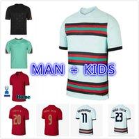 2021 2022 Ronaldo Joao Felix Neves 축구 유니폼 Bernardo 취소 Ruben National Team 축구 셔츠 20 21 남자 키트 제복