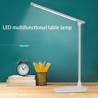 Table Lamps Simple Modern High-End Bright LED Eye Protection Desk Lamp Student Work Plug-in Rechargeable Light
