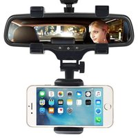 Universal Car Phone Holder 360 Degrees For Phone GPS Smartphone Stand Car Rearview Mirror Mount Phone Holder