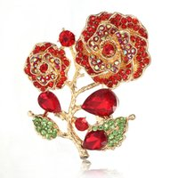 New Fashion Cloth Art Flower Brooches for Women Fabric Corsage Shirt Collar Pins Vintage Jewelry Hat Shoe Clothing Accessories