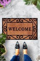 Carpets Welcome Friends Door Mat Bedroom Kitchen Bath Floor Mats Home Entrance Multipurpose Doormat Non-slip 45*70cm
