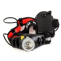 Масштабируемый Q5 светодиодный фары фары аккумулятора фокусировки Frontal High Power Head Light Light Torch для рыбалки для калькеты фар