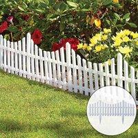 Decoración de la boda pastoral al aire libre de la cerca del jardín de la cerca del jardín empalmable y desmontable Pequeño 4 PCS de 4 piezas, Puertas enrejadas
