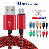 2A USB Cables Type C Data Sync Charging Phone Adapter Thickn...