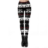 calças leggings femininos drs fulvo impressão de natal estiramento skdk122 2021 atmosfera high-end tendência de moda avant-garde sexy lle8