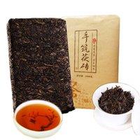 1000g olgun pu er çay yunnan anhua siyah geleneksel pu er çay organik en eski ağaç pişmiş puer doğal pu erh tuğla siyah puerh çay