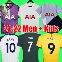 Tottenham Hotspur 21 22 KANE SON BALE BERGWIJN DELE Soccer Jerseys 2021 2022 LUCAS DELE Football kit shirt BALE NDOMBELE tops kids sets uniform with socks