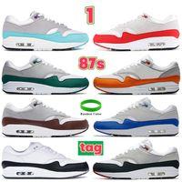 Acquista Nuovo 1 87 Uomo Donna Scarpe Da Corsa Tinker Nero Bianco Gum Red Sail Time Capsule Pack Sneakers Da Uomo US 5.5-11