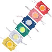 DC12V COB Modules LED Strip Light Bead PUCK MODULES DE BANCHE Lampe Ultra Bright 2.5W Imperméable Lettre de bricolage Lettre publicitaire Éclairage