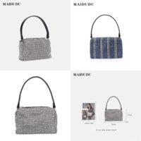 Rtyya lüks renkli moda nakış alışveriş çantası çanta, ipek moda dener kadın çanta tasarım öğeleri, lüks eşarp, *.