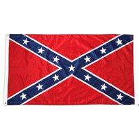 الحرب الأهلية معركة ديكسي الكونفدرالية المتمردين العلم 90x150 سم 3x5 قدم مباشرة مصنع FWB9309
